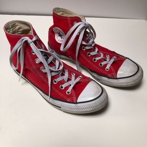 Converse All Star Red HiTops